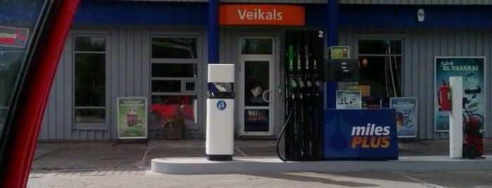 Statoil DUS   Lielvārde is one of Benzintanki LV.