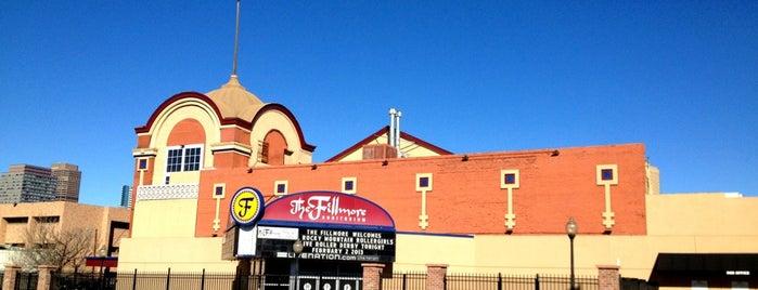 Fillmore Auditorium is one of Denver.