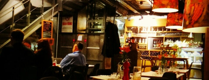 Enstitu Restoran (Istanbul Culinary Institute) is one of İstanbul Yemek Turu :).