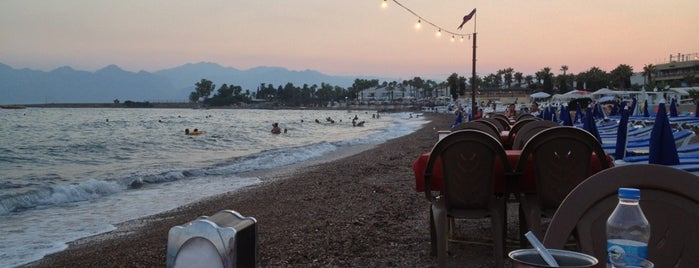 Örnekköy Plajı is one of Antalya.