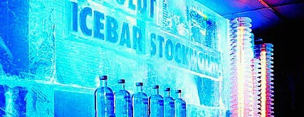 Icebar by Icehotel Stockholm is one of Stockholm City Guide.