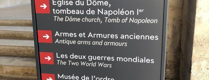 Musée de l'Armée is one of Tempat yang Disukai Onur.