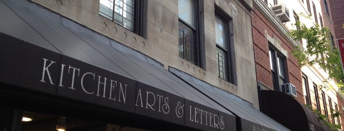 Kitchen Arts & Letters is one of NY Stores.