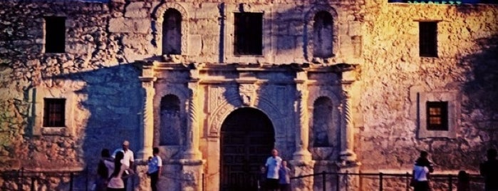 The Alamo is one of Austin and San Antonio.