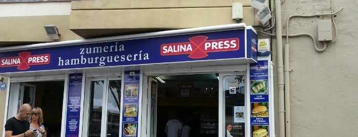 Salina Express is one of comida.