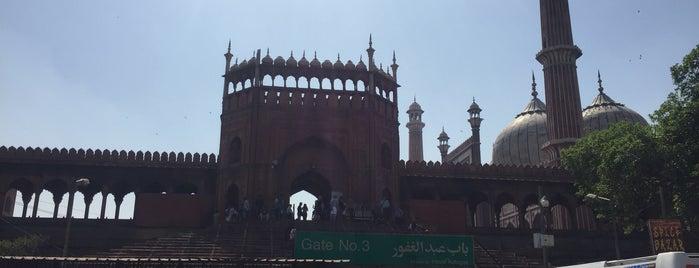 Jama Masjid  |जामा मस्जिद | جامع مسجد is one of สถานที่ที่ Frankspotting @teporingo ถูกใจ.