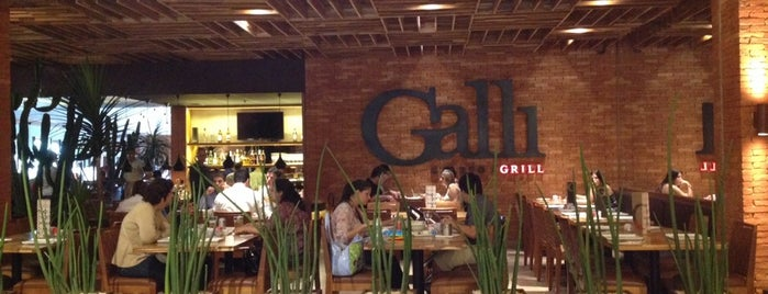 Galli Galeto & Grill is one of Locais curtidos por Frederico.