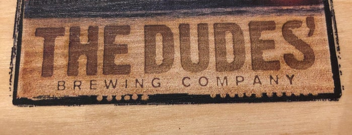 The Dudes' Brewing Co. is one of Lugares favoritos de Dan.