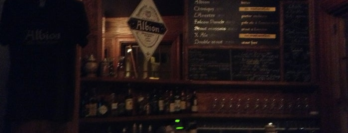 Brasserie artisanale Albion is one of Bieres de microbrasseries / Microbreweries beers.