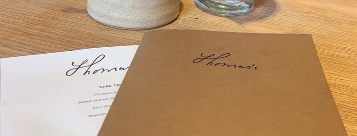 Thomas's at Burberry Regent Street is one of Nicolasさんのお気に入りスポット.