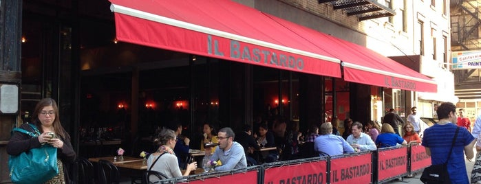 Il Bastardo is one of Brunch & Lunch NYC.