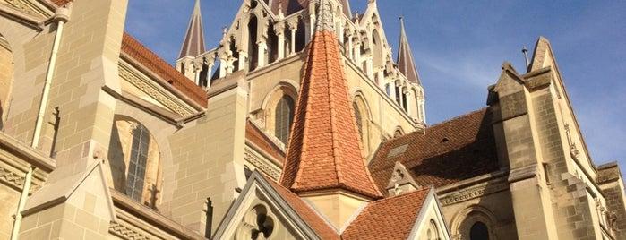 Cathédrale Notre-Dame de Lausanne is one of Follow the Orient Express — Şark Ekspresi.