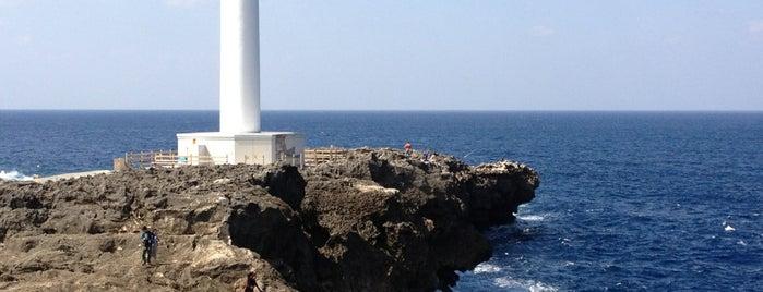 Cape Zanpa Lighthouse is one of Okinawa.
