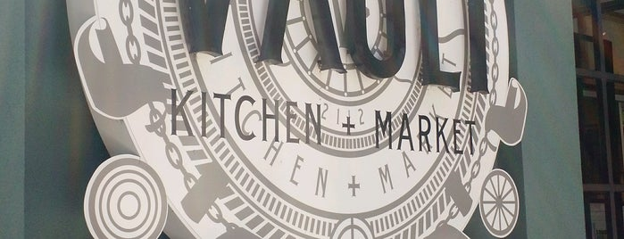 The Vault Kitchen + Market is one of Savannah trip.