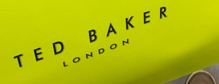 Ted Baker is one of Locais curtidos por Jessica.