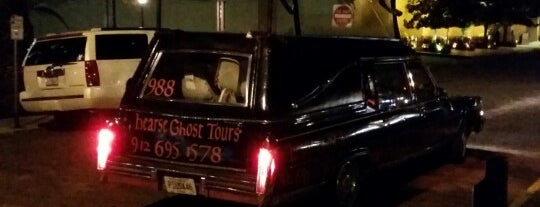the Hearse Ghost Tour is one of Savannah.