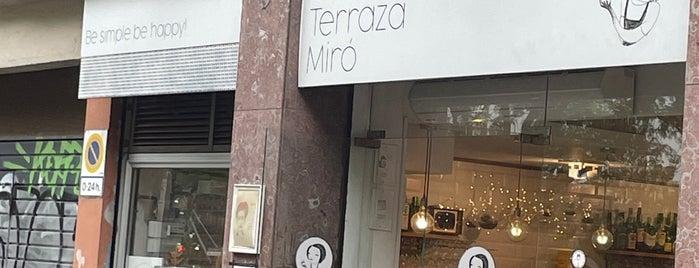 La terrassa Miró is one of Barcelona by Pab.