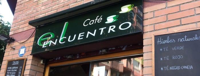 Cafe El Encuentro is one of Locais curtidos por Carlos.