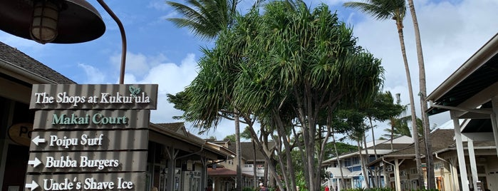 The Shops at Kukui'ula is one of Hawaii.