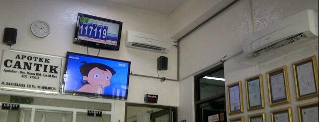 Klinik Cantik is one of สถานที่ที่บันทึกไว้ของ Maria.