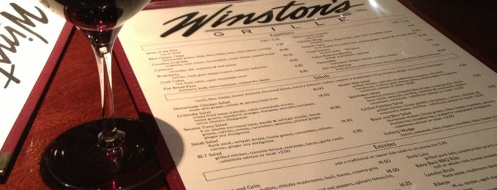 Winston's Grille is one of Raleigh Favorites II.