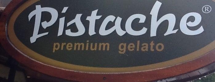 Pistache Premium Gelato is one of Tempat yang Disukai Marcus.