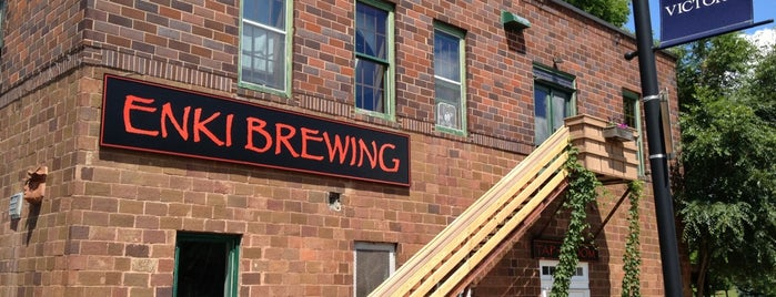 ENKI Brewing is one of Tap Rooms / Breweries in the Greater MN Area.