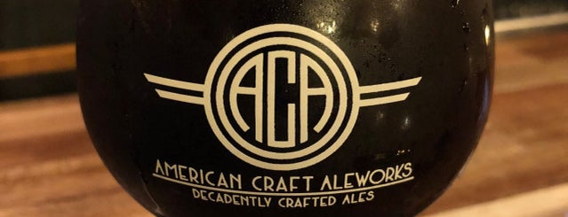 American Craft Kitchen & Brewery is one of Tammy's Liked Places.