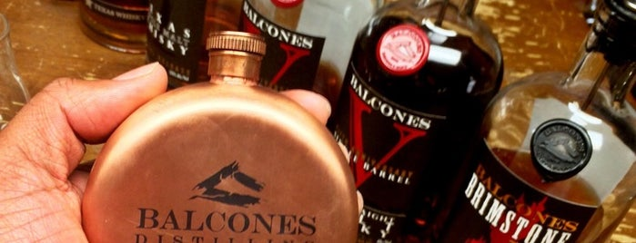 Balcones Distillery is one of Where in the World (To Drink).