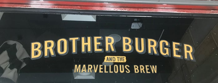Brother Burger and the Marvellous Brew is one of สถานที่ที่ Cameron ถูกใจ.