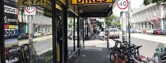 Melbourne Bicycle Centre is one of Tempat yang Disukai Adam.