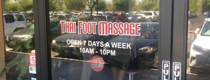 Thai Foot Massage is one of Phoenix.