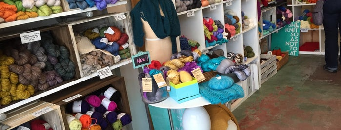 South Park Dry Goods is one of one of these days: yarn.