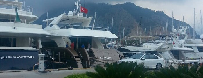 Çelebi Marina is one of antalya 2014.