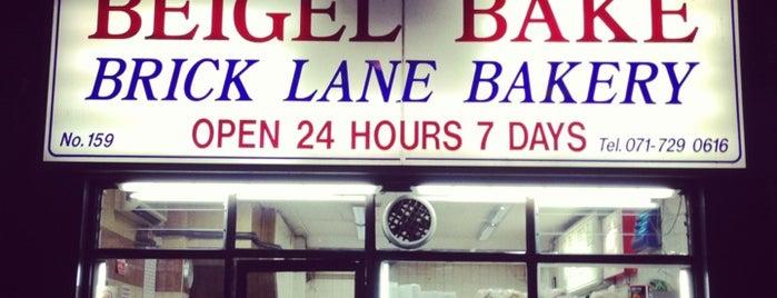 Beigel Bake is one of London.