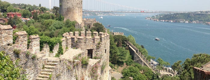 Rumeli Hisarı is one of Istambul.