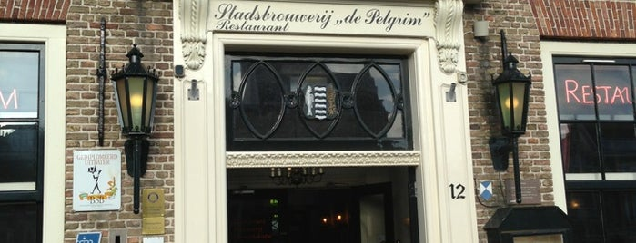Stadsbrouwerij-Restaurant De Pelgrim is one of Road To Rott.