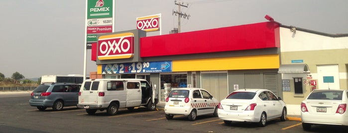 Oxxo Gasolinera Tepeapulco is one of María 님이 좋아한 장소.