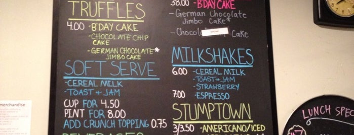 Momofuku Milk Bar is one of New York TOP Places.