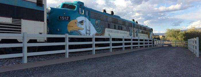 Verde Canyon Railroad is one of Arizona.