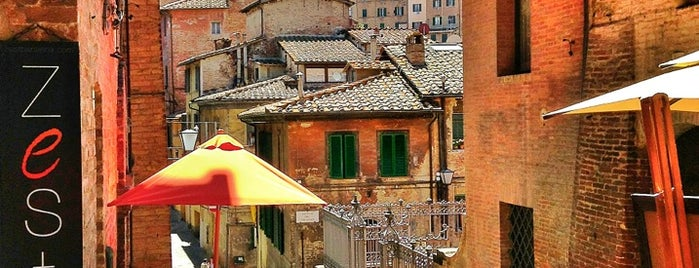Zest Ristorante & Wine bar is one of Siena Bars, Cafe, Food, POI.