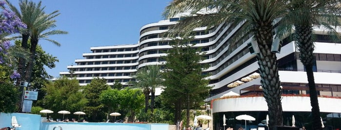 Rixos Downtown Antalya is one of Bülent : понравившиеся места.