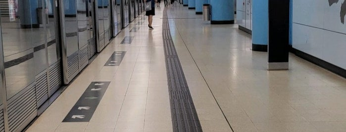 MTR 坑口駅 is one of Fragrant Harbour HK.