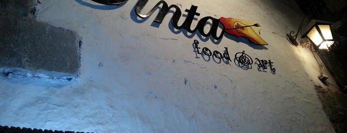Tinta Restaurante Cultural y Galería de Arte is one of Daniela'nın Beğendiği Mekanlar.