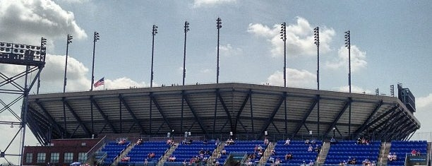 Louis Armstrong Stadium is one of Lugares favoritos de Amanda.