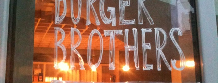 The Burger Brothers is one of Locais curtidos por Andrey.