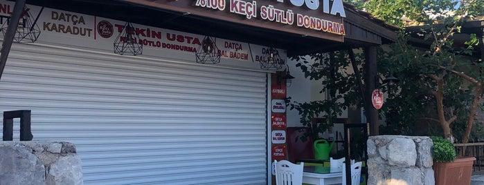 Tekin Usta Dondurma is one of Datça.