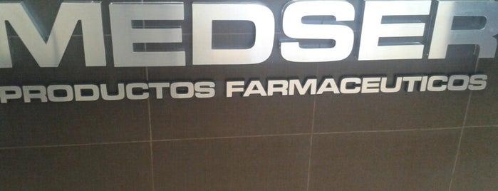 MEDSER Productos Farmacéuticos is one of Clientes.