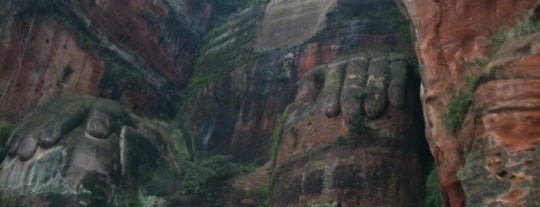 Leshan Giant Buddha is one of Posti che sono piaciuti a Esteban.