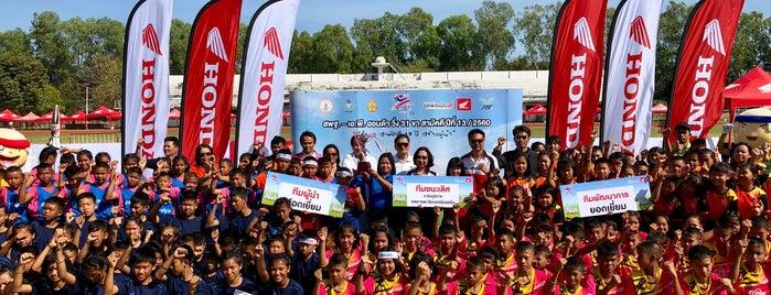 สนามกีฬากลาง จังหวัดร้อยเอ็ด is one of D2 Group B Champion League 2011.